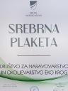 Srebrna plaketa Občine Zagorje ob Savi društvo Eko krog